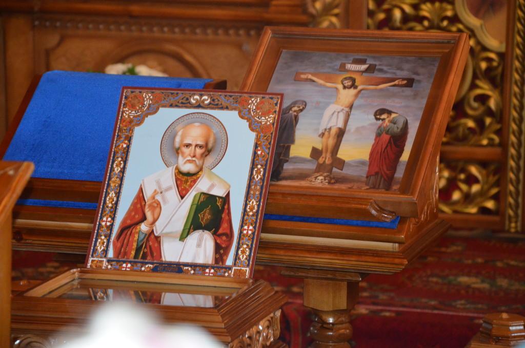 Торжественная встреча частицы мощей Святителя Николая Чудотворца