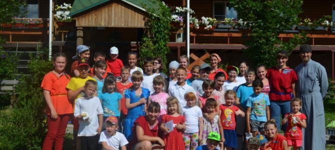 Закрытие летнего лагеря «Да любите друг друга» 2016